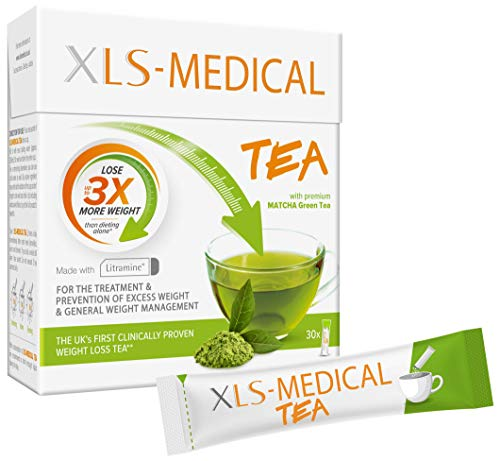 XLS-Medical Tea - Reduce Calorie Intake from Dietary Fats, 30 Sachets, 10 Days Treatment