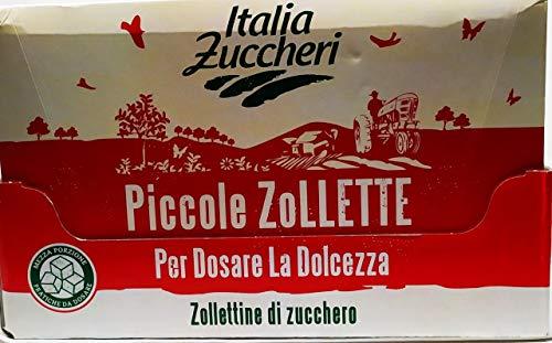 ZUCCHERO IN PICCOLE ZOLLETTE ' ITALIA ZUCCHERI ' PACCO CONVENIENZA CONTENETE 5 CONFEZIONI DA KG 1 CAD.