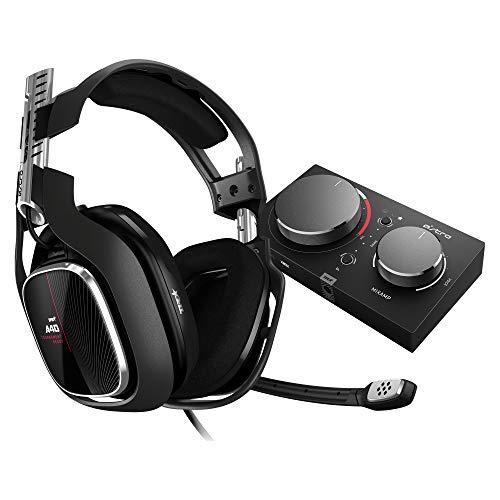 ASTRO Gaming A40 TR, Gaming-Headset mit MixAmp Pro TR, Gen 4, ASTRO Audio V2, Dolby Audio, Austauschbares Mikrofon, Game/Voice Balance Control, Kompatibel mit Xbox X|S|One, PC, Mac - Schwarz/Rot
