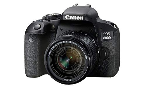 Canon EOS 800D 24.2MP Digital SLR Camera + EF-S 18-55 mm is...