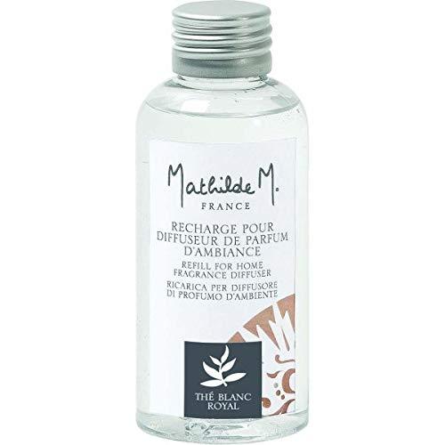 Mathilde M Recharge pour diffuseur de Parfum d'ambiance 100ml - Thé Blanc Royal