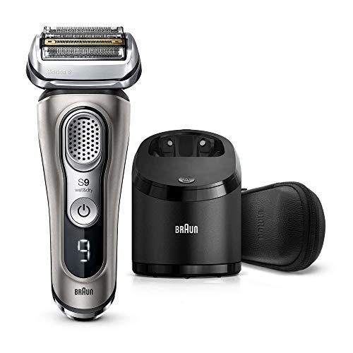 puissant Braun Series 99385cc Nouvelle station de rasage électrique, de nettoyage et de charge pour hommes,…