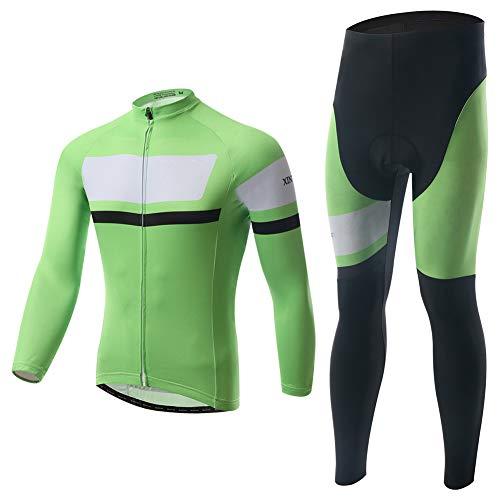 Fietskleding fietsshirt set bike kleding tricot comfortabel ademend herfst winter mode lange mouwen voor outdoor sport fietsen heren en dames
