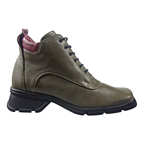 Salamander Damen Stiefel Grün Größe: 40 EU Obermaterial: Leder Innenmaterial: Leder Laufsohle: Sonstiges Material