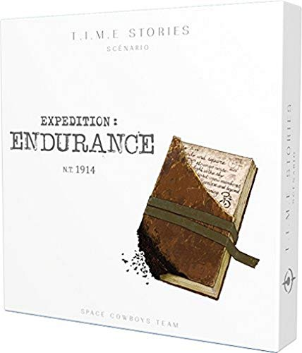 Time Stories – Extensión: Expedición Endurance – Asmodee – Juego de Mesa...
