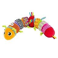 Lamaze Mix & Match Plush Toy Caterpillar Baby Toy Puzzle For Sensory Play