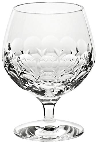 CRISTALICA Cognacschwenker Kelchglas Brandy Rhombus 300ml Bleikristall klar geschliffen