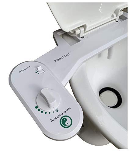 Fresh Water Adjustable Nozzle Retrofit Universal Bidet Toilet Seat...