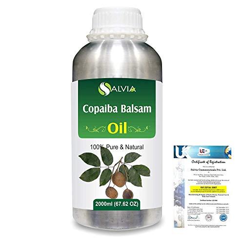 Salvia Copaiba Bálsamo (Copaifera Reticulata) Aceite esencial natural 2000 ML