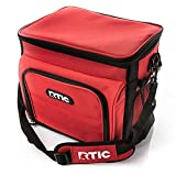 RTIC Day Cooler Bag, 28 Cans, Red, Large Portable Lunch Box for Men &...