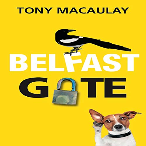 Belfast Gate audiobook cover art