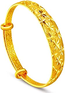 Classic Gold Plated adjustable Bangle for Women