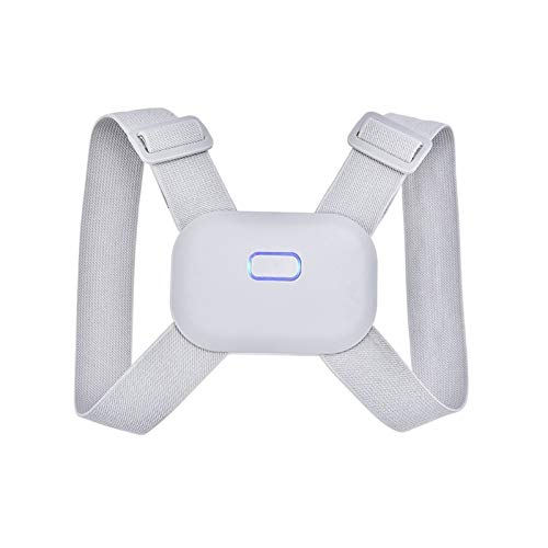 Recordatorio Ajustable Sensor Inteligente de la vibración, Adulto Niño y la Postura de corrección de Dispositivos, aliviar el Jorobado de corrección, Espalda y Hombro de Apoyo (Size : Medium)