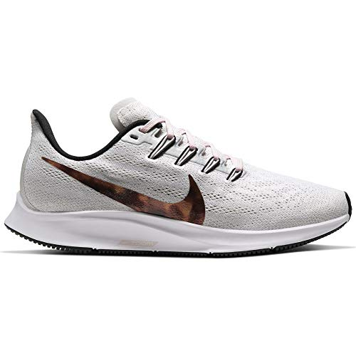 Nike Air Zoom Pegasus 36 Women's Running Shoe VAST Grey/Multi-Color-Black-Barely Rose Size 10.5