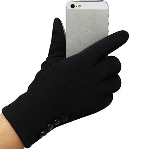 Dorical Touchscreen Handschuhe für Damen/Frauen Winterhandschuhe Fahrradschuhe Winter Warm Sport Outdoor Handschuhe