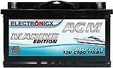 AGM Batterie 12v 110Ah...