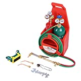 Vehpro Welding Cutting Torch Kit Portable Oxygen Acetylene Oxy Welding Cutting Weld Torch Tank Kit