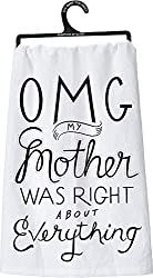 mother's day gift tea towel kitchen