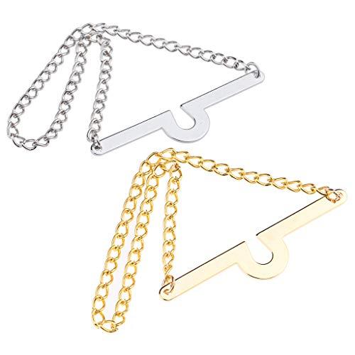 non-brand Krawatte Ketten Einzelne Schleife Krawattenketten Für Männer/Jungenschmuck