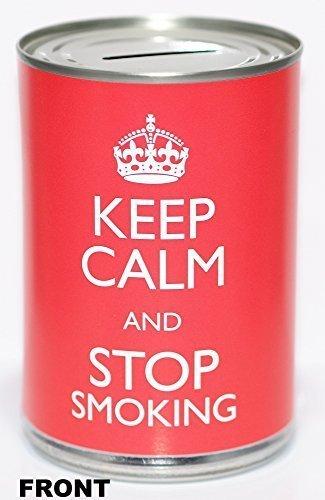 CanTastic - Caja de Ahorro para Mantener la Calma y Dejar de Fumar, Lata de Ahorro, estándar