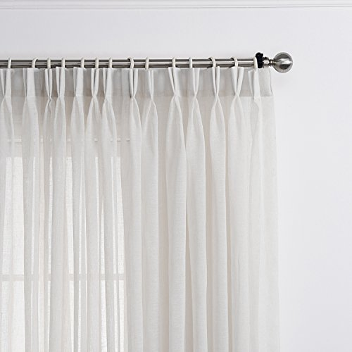 Pinch Pleated Sheer Draperies - 7
