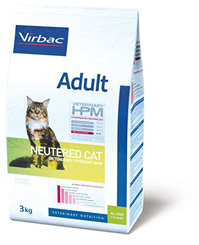 Virbac Veterinary HPM Vet Cat Ad Neutered Katzenfutter 12 kg