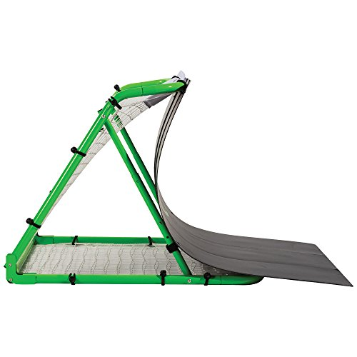 Franklin Sports Soccer Return Ramp - Soccer Launch Ramp - Portable Soccer Trainer and Rebounder - 38'x42'x35.75' Soccer Return