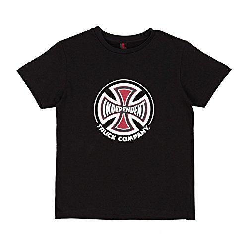 Independent T-Shirt Bambino Truck Co Nero (6-8 Anni, Nero)