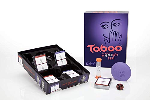 Babariya Enterprise Taboo Board Game, Guessing Game for Families and Kids Ages 13 and Up, 4 or More Players