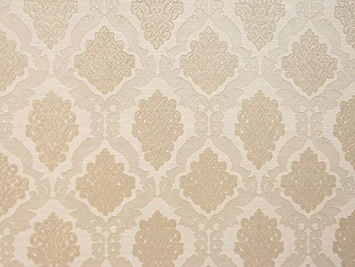 Nutmeg Damask Excellent for Drapery reversible 56 inches wide Fabric  By the yard Multipurpose