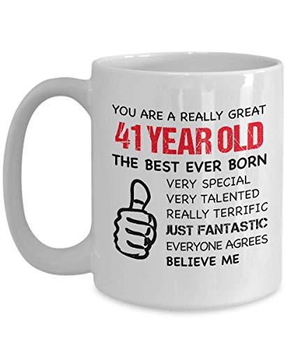 N\A Taza de café 55TH Birthday - Eres un Gran Hombre de 55 años