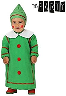 8ad3eb20e8 Th3 Party Atosa 12783 - Costume da albero di Natale, taglia 6-12 mesi