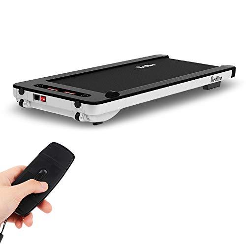 Laufmaschine unter Schreibtisch Elektrisches Laufband mit Bluetooth-Audio-Lautsprechern Und Drahtloser Fernbedienung