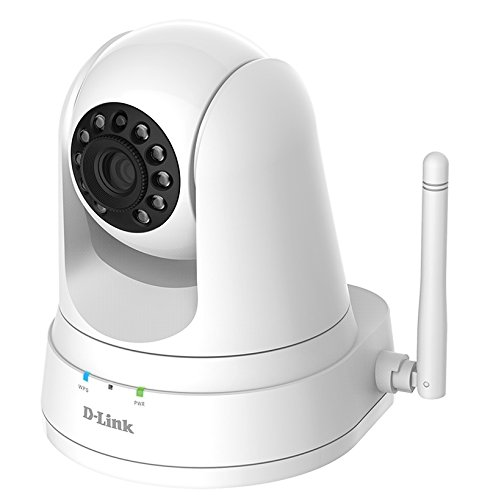 D-Link Full HD Pan & Tilt WiFi Security Camera – 720p HD Resolution – Night Vision – Remote Access (DCS-5030L)
