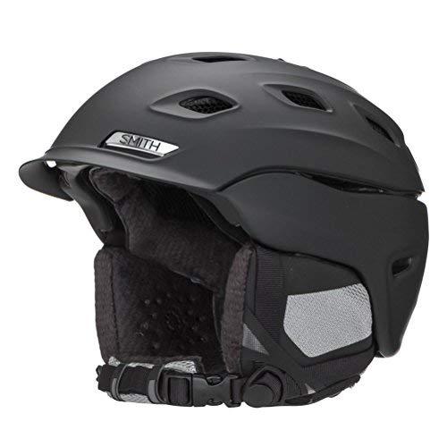 Smith Optics Women's Vantage Snow Helmet (Matte Black, Medium)