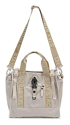 GEORGE GINA & LUCY Show Ping Hand Bag Vanilla & Cream