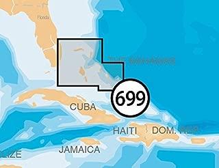 Navionics Platinum Plus 699P+ Northern Bahamas Marine Charts on SD/MSD