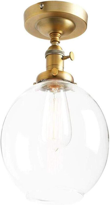 Retro Licht Moderne Unterputz Schalter Deckenleuchte Loft Bar Edison Pendelleuchte Kronleuchter Mit Globus Klarglas Licht Schatten E27 (Antike)