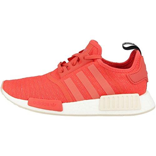 adidas NMD_r1 W, Chaussures de Gymnastique Femme, Rouge (Trace Scarlet S18/trace Scarlet S18/ftwr White), 39 1/3 EU