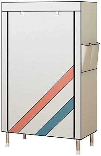 DHFDHD Zapatero Cerrado múltiples Capas Moderno Moderno de Zapatos Simple, a Prueba de Polvo, Transpirable y fácil de Montar el Estante de Almacenamiento multifunción para el Dormitorio del Pasillo