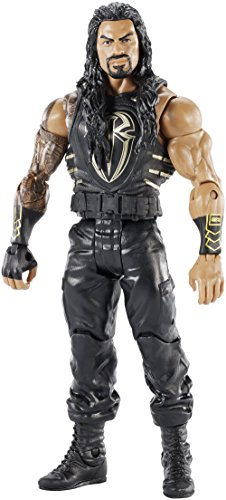 Mattel DXG47 - WWE Wrestlemania 33 Roman Reigns Actionfigur
