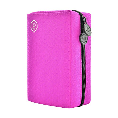 One80 Double Darttasche, Pink