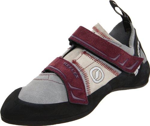 Scarpa Women's Reflex Climbing Shoe,Pewter/Plum,35 EU/4.5 M US