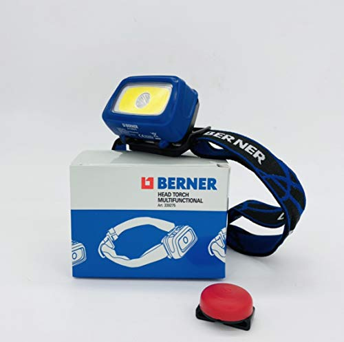 Berner Linterna frontal LED multifunción Head Torch