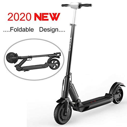 Elektroscooter Erwachsene,8,5-Zoll-Kick-Reife,30km-Langstreckenbatterie Elektroroller,LCD-Display und LED-Licht,25KPH(3 Geschwindigkeiten),350W Motoren,Faltbare Ultralight E-Scooter für Jugendliche