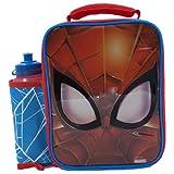 MARVEL SPIDERMAN Sac Repas Enfant, Lunch Bag, Sac à Déjeuner, Sac Fraîcheur Portable