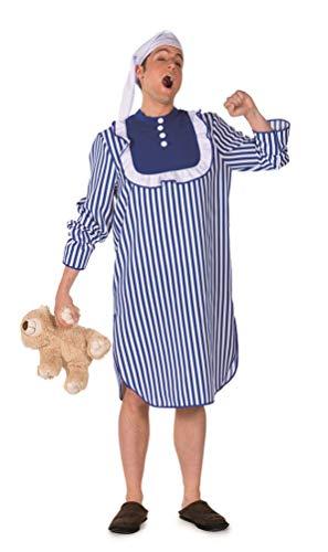 Karneval-Klamotten Nachthemd Kostüm Herren Karneval