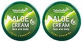 Tabaibaloe Aloe Vera Feuchtigkeitscreme für Gesicht und Körper 50 ml x 2 Einheiten