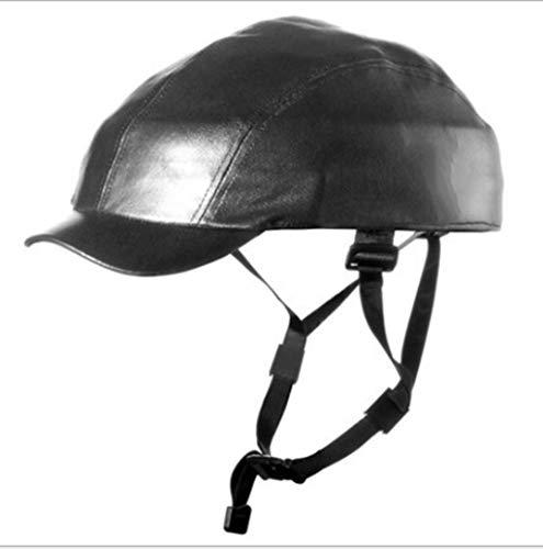 Outdoor sport houlian shop Vouwen Fietshelm Leer Halve Helm