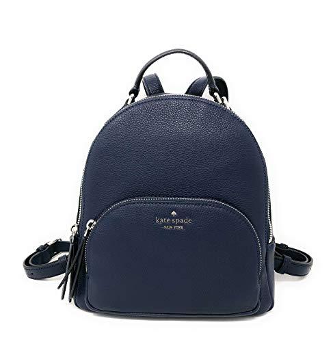 Kate Spade New York Jackson Pebbled Leather Medium Backpack, Nightcap